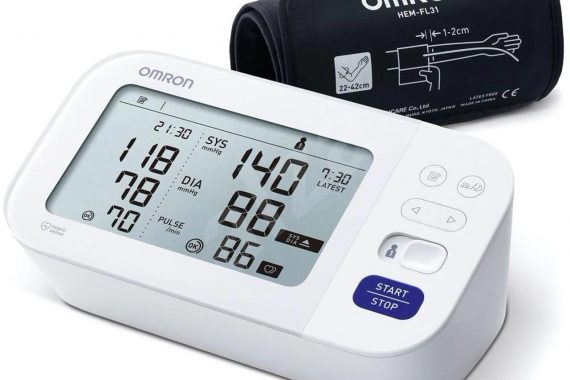 Omron blodtryksmåler